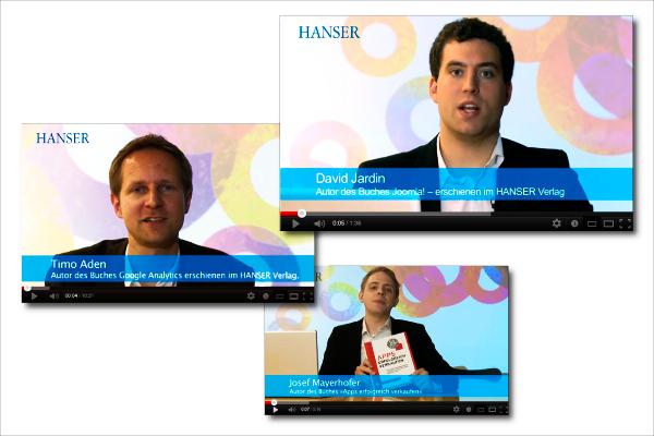 Hanser-Autoren sprechen zum Thema Online-Business.