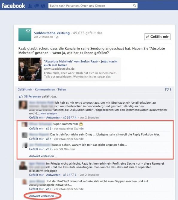 Facebook Kommentar