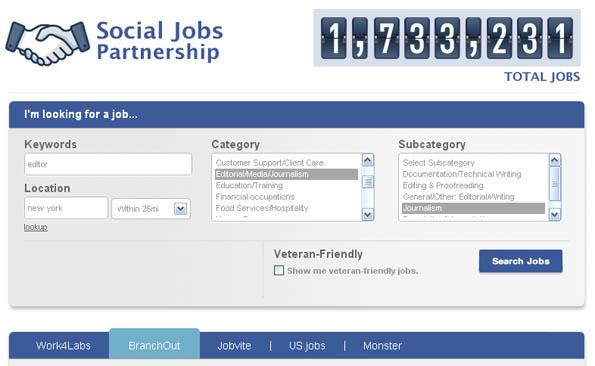 Facebook Stellenbörse: Jobs finden und liken