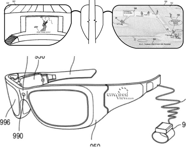 Patentantrag: Microsoft könnte an Konkurrent für Googles Project Glass arbeiten (Foto: Unwired View)
