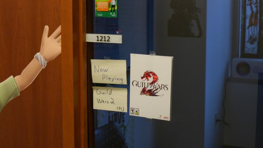 Besonders kreativ sind die Büros des Xbox-Teams.