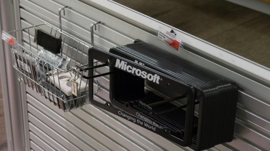 Im Microsoft Store auf dem Firmengelände findet sich so manche Kuriosität.