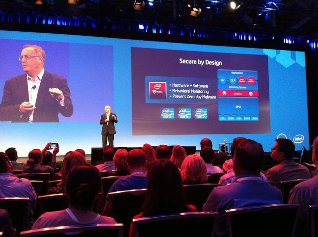 Paul Otellini führte Intel durch die Wirtschaftskrise 2008/2009.