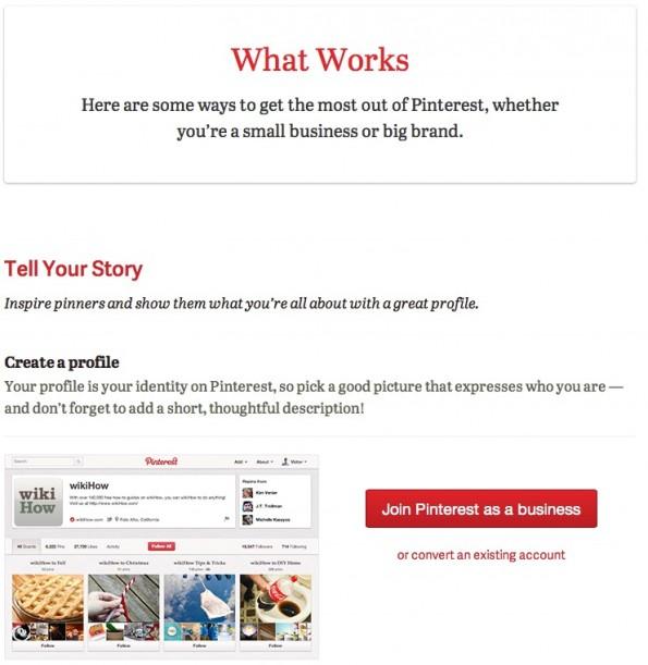 Pinterest Unternehmensprofile BestPractices