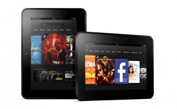 Noch ganz zweidimensional: Das Tablet Kindle Fire ist das aktuelle Premiumprodukt von Amazon.