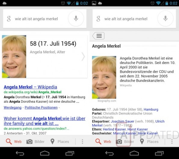 android google now knowledge graph