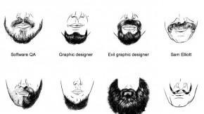 Der passende Bart für alle IT-Berufe [Infografik]
