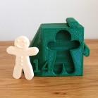 3D-Drucker 11 Lebkuchenmann