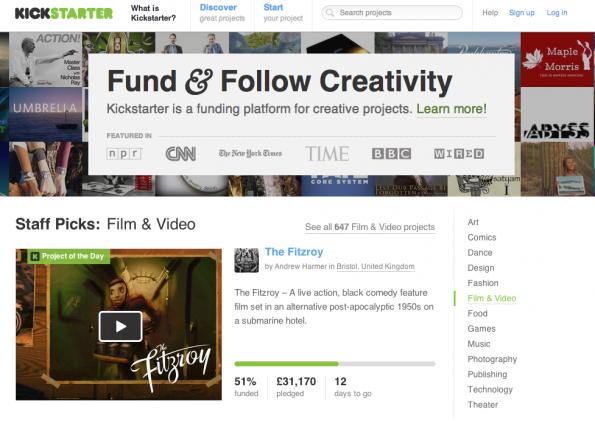 Kickstarter: Die Crowdfunding-Plattform hat in diesem Jahr mit spektakulären Projekten auf sich aufmerksam gemacht