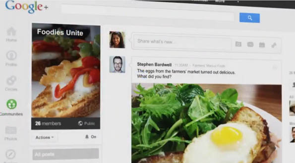 Google+ Communities Feature soll Interessengruppen verbinden