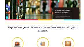 Hierbeidir.com: Same-Day-Delivery für lokale Onlinebestellungen