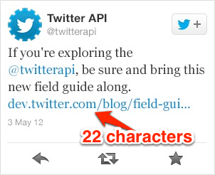 URL-Shortener: Twitter verlängert auf 22 Zeichen (c) The Next Web