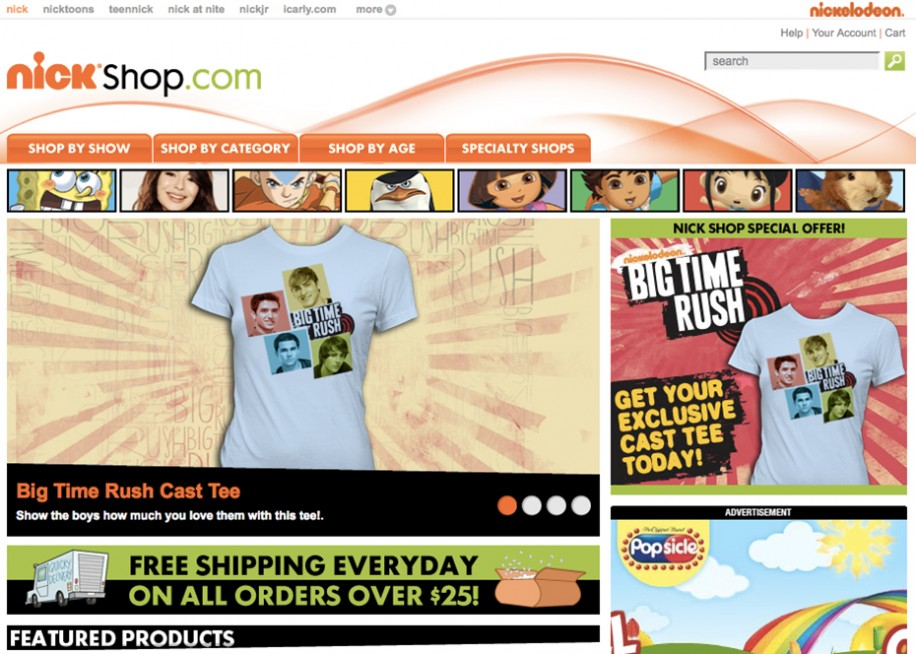 Die Webstore Gallery zeigt einige Beispiele von bestehenden Amazon Webstores.