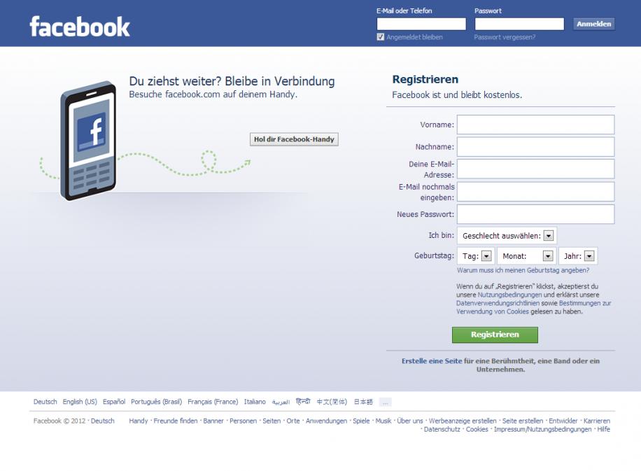 Zeitweise über 100 Milliarden US-Dollar wert: Facebook