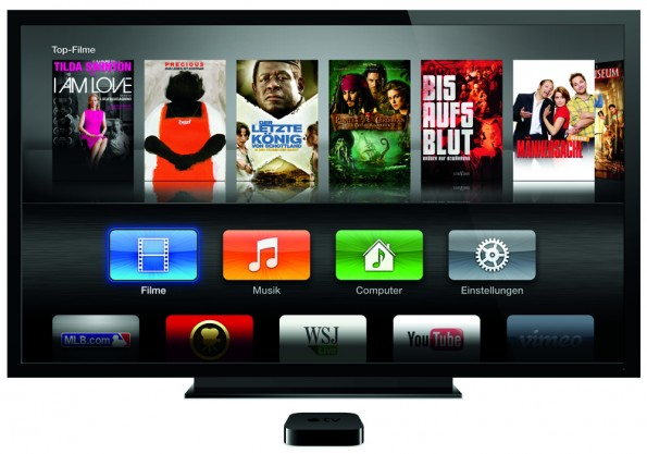 AppleTV Main Menu Movies DE