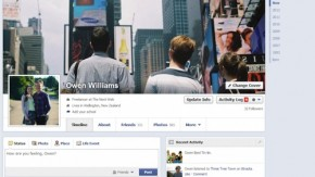 Facebook testet neues Chronik-Design