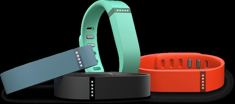 Fitbit Flex: Mit dem wasserfesten Armband lassen sich Kalorienverbrauch, Schritte und die Schlafqualität ermitteln.