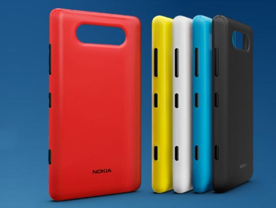 Nokia lädt dazu ein, selbst ein Case für das Lumia 820 Smartphone zu entwerfen und auszudrucken.