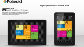 Polaroid Android Tablets unterbieten Nexus-Serie mit Kampfpreisen [CES 2013]