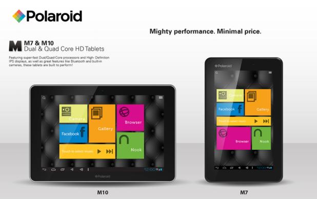 Polaroid Tablets M7 und M10: Mit kleinen Preisen gegen große Konkurrenz