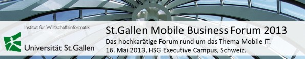StGallen Mobile Business Forum