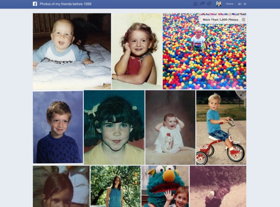 Mit solche Anfragen wird Facebook zukünftig vielen Konkurrenten wie zum Beispiel flickr gefährlich.
