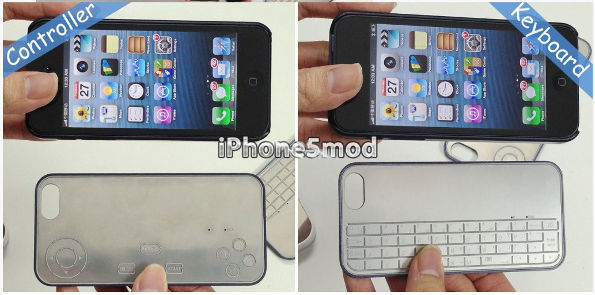 iPhone 5 Keyboard und Game Controller (c) iPhone5Mod