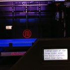 LCD-Display des Makerbot Replicator 2