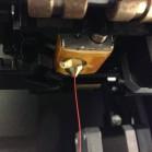 Der Druckkopf des Makerbot Replicator 2 im Detail