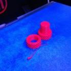 Das fertige Druckergebnis eines Makerbot Replicator 2