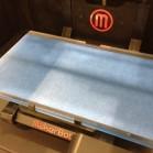 Die Basis des Makerbot Replicator 2 bildet die Objekt-Plattform auf der gedruckt wird