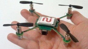 MeCam: 49$-Mini-Quadrokopter folgt dir und streamt Video auf dein Smartphone
