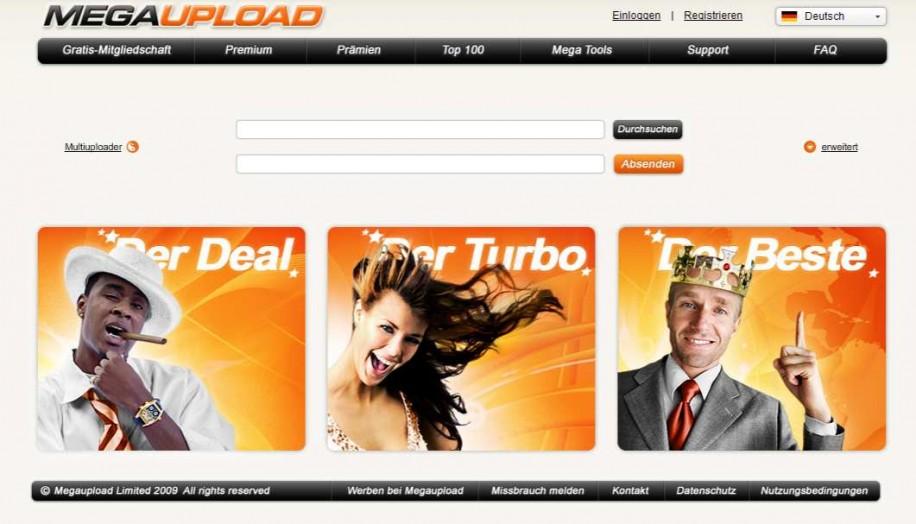 Megaupload: Daten von 50 Millionen Nutzern weg
