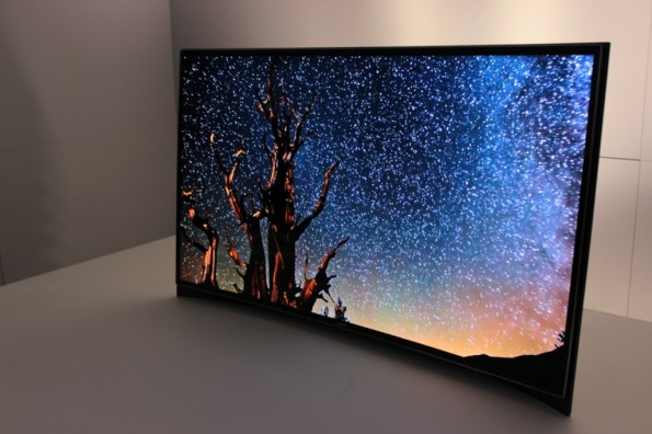 kinofeeling f r daheim curved oled tvs seitens samsung. Black Bedroom Furniture Sets. Home Design Ideas