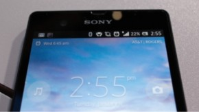 Xperia Z: Sonys neues Topmodell im Hands-On [CES 2013]