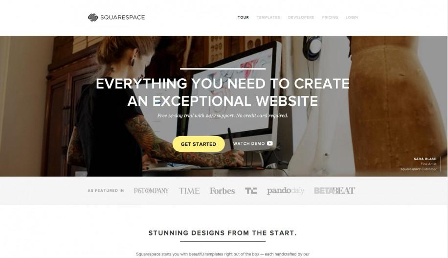 Squarespace - squarespace.com