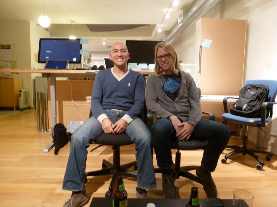 Von Deutschland ins Silicon Valley: Zouhair Belkoura und Philipp Berner von KeepSafe.