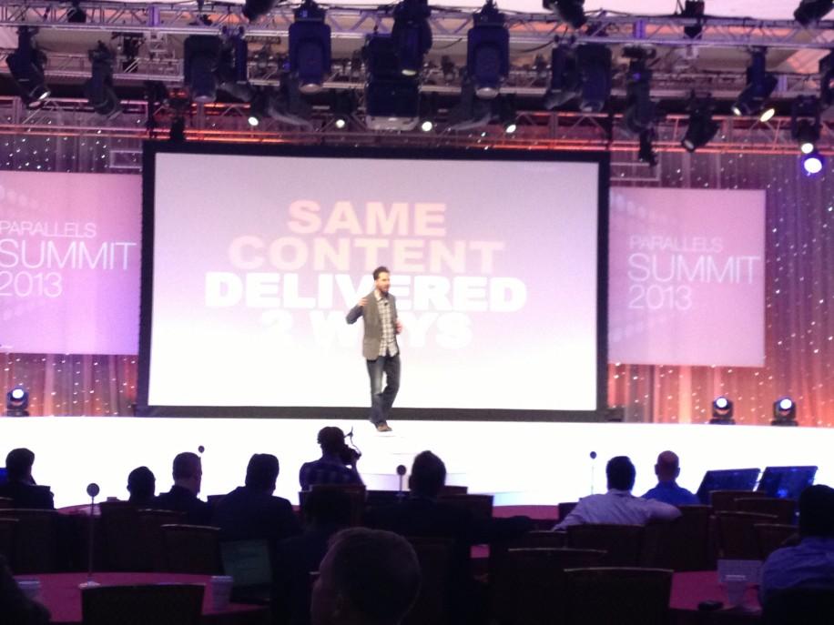 """TrendHunter.com-Gründer Jeremy Gutsche auf dem Parallels Summit: """"Das Chaos ausnutzen. Wie man Innovation entfacht in Zeiten des Wandels"""""""