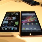 HTC one vs sony xperia z 5808
