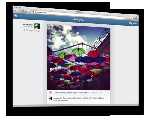 Instagram: Ab sofort Fotostream im Webbrowser anschauen samt Like- und Kommentarfunktion