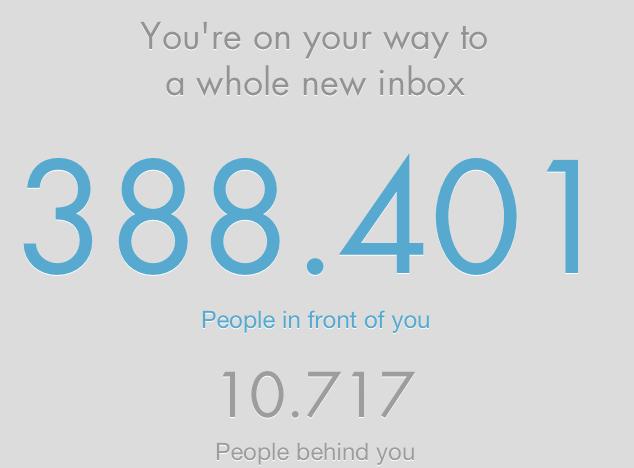 Wie lange dauert's noch, bis Mailbox die App für alle Nutzer freischält?