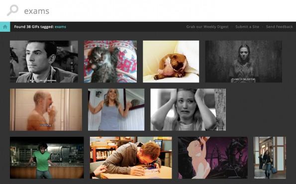 Giphy ist eine neue Suchmaschine für animierte GIF-Grafiken, hauptsächlich aus Tumblr.