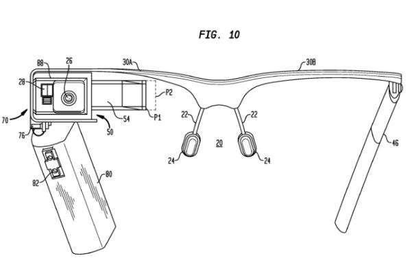 Neue technische Details zu Google Glass kann man einem aktuellen Patentantrag entnehmen.