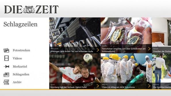 """Die App der Zeitung """"Die Zeit"""" ist viel mehr als eine tagesaktuelle Nachrichten-App. Stattdessen handelt es sich hierbei um ein digitales Zeitungsarchiv."""