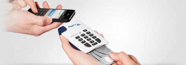 PayPal Here, ein Kartenlesegerät für den Einzelhandel.(Screenshot: Paypal)