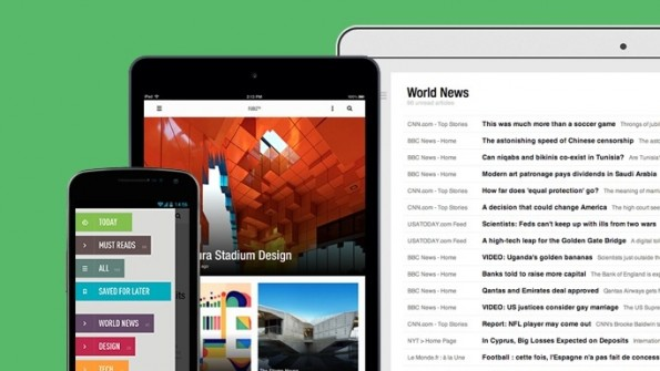 Feedly ist mehr als eine Google-Reader-Alternative. (Screenshot: feedly.com)