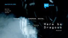 NEXT Berlin 2013: Berliner Trendkonferenz wirft Blick in digitale Zukunft