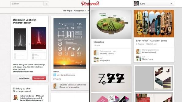 Pinterest Redesign