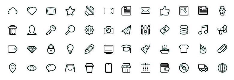 Icon Fonts 12 Kostenlose Schriftarten Für Dein Projekt