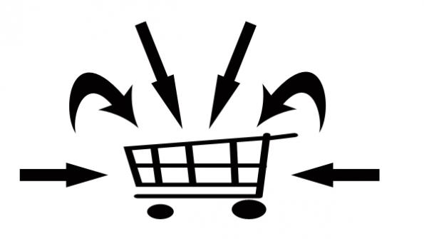 Beim E-Commerce soll so viel wie möglich im Warenkorb landen.